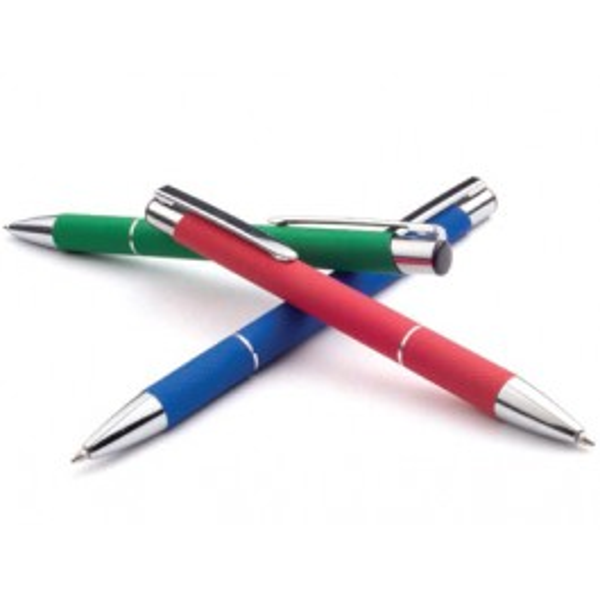 Długopis ZOE - zestawienie kolorów