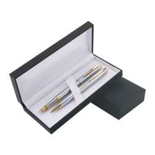 Zestaw GAMMA długopis i pióro w etui Z-1 Lux