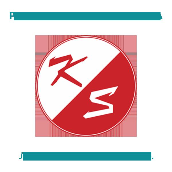 Metalowy długopis ADORNO, czerwony, srebrny